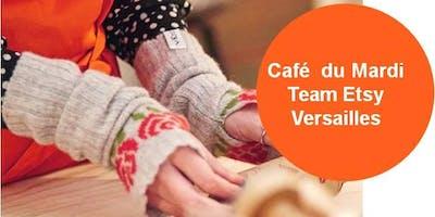 Le café rencontre des créateurs team Etsy Versailles du mois de décembre