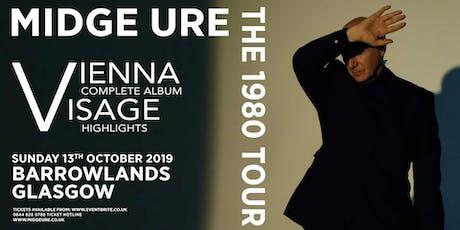 Midge Ure (Barrowlands, Glasgow) tickets