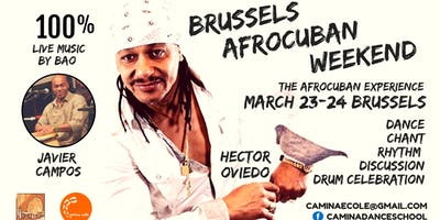 Brussels AfroCuban Weekend: with Hector Oviedo