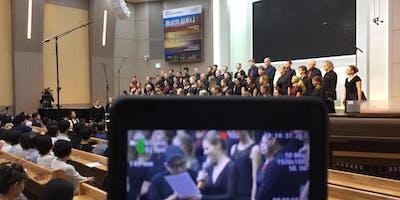 """Filmpremiere \""""Symphonie der Stimmen\"""" UNICHOR Düsseldorf auf Asienreise"""