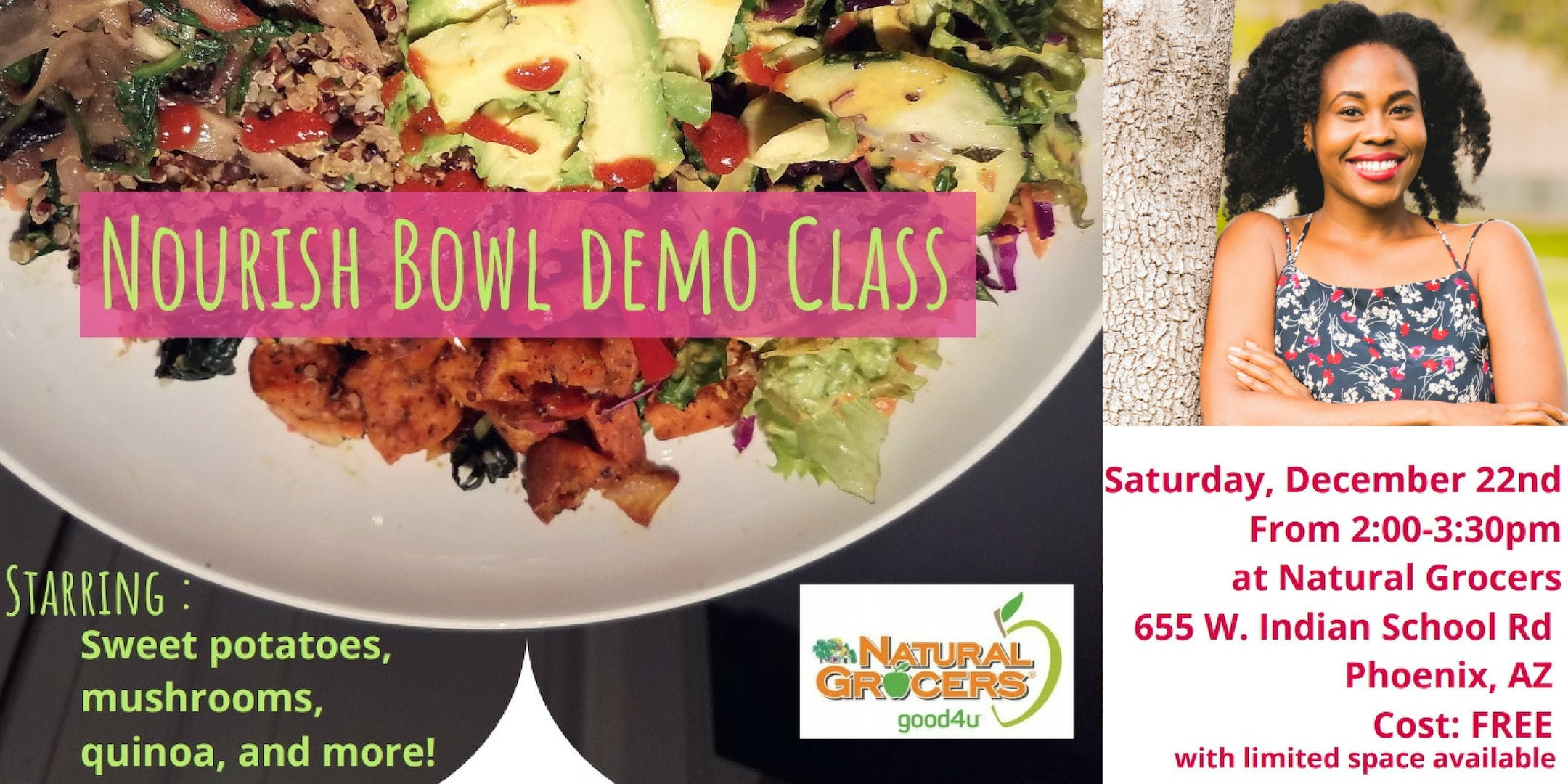 Nourish Bowl Demo Class