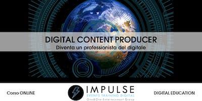 Corso online DIGITAL CONTENT PRODUCER