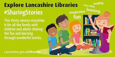 Sharing Stories - Welcome Read (Leyland)  #SharingStories