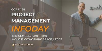 Infoday Corso di Project Management a Lecce