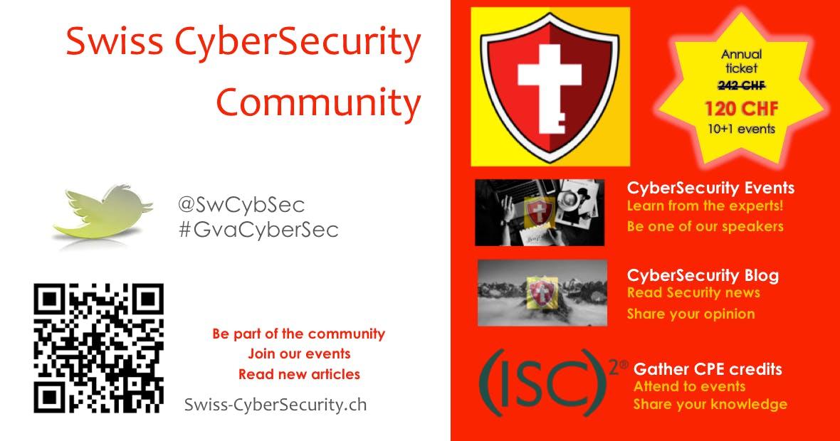 Swiss CyberSecurity Loyalty Card 2019