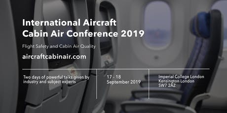 Aircraft Cabin Air Conference 2019 tickets