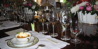 Fine Wine Tasting Dinner in Rhubarb, Prestonfield
