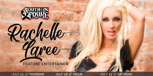 Feature Entertainer: Rachelle Laree