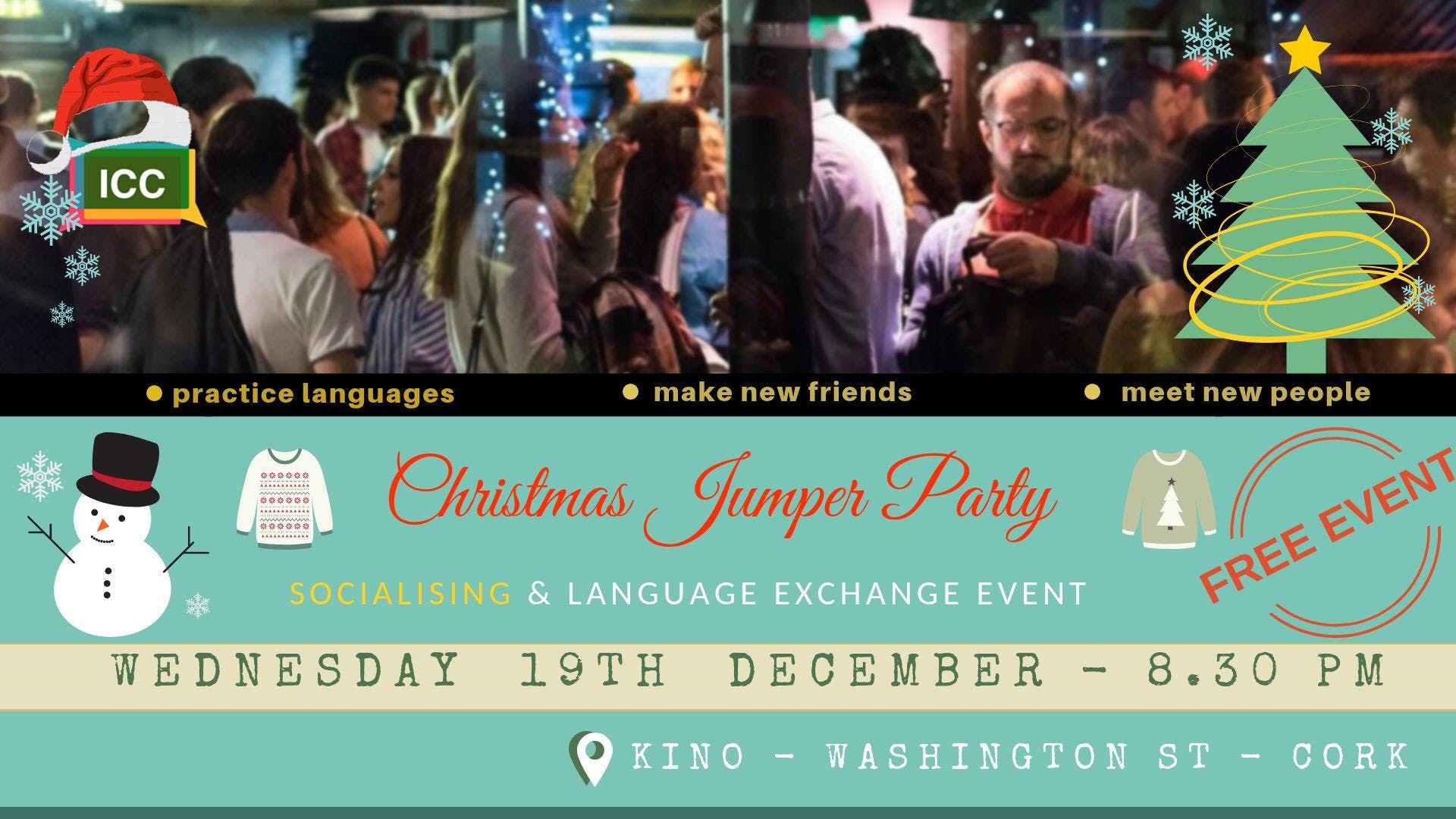 Language Exchange & Socialising Meeting - December 19th