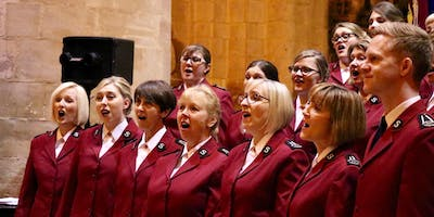 The International Staff Songsters Visit Sittingbourne Corps 19th & 20th Jan