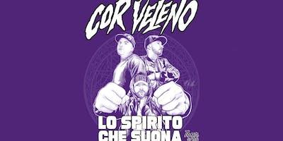 The Alibi Presents: Cor Veleno | Lo Spirito Che Suona Tour | Opening Act: Toto' Nasty & K9 | SPAD CREW + ICEBOX (Showcase)