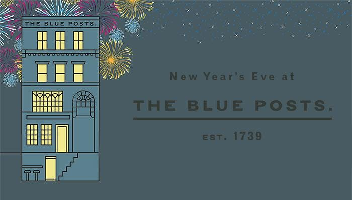 New Year's Eve at The Blue Posts