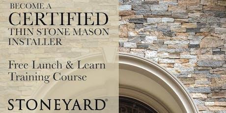 Stoneyard® Certified Installer Classes tickets