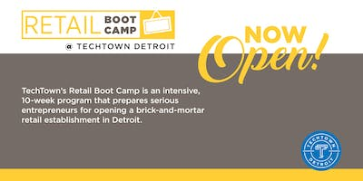 Retail Boot Camp Spring 2019 Info Session 5
