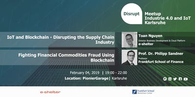 Disrupt Meetup | Redefining Finance & Supply Chain