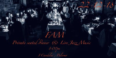 FAM in Palermo (Ticket for the dinner&party)