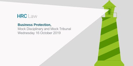 Business Protection Training - Mock Disciplinary and Mock Tribunal  tickets