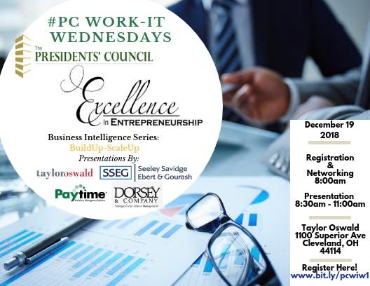 The Presidents' Council Work-It Wednesdays Bu
