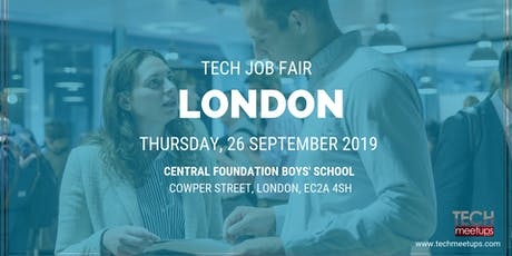LONDON TECH JOB FAIR AUTUMN 2019 tickets