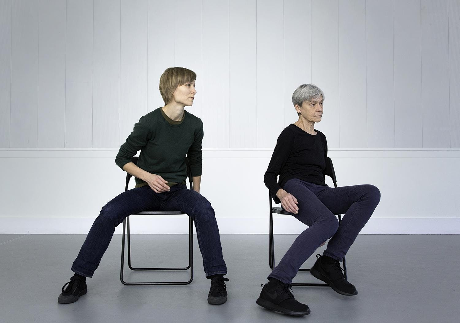 Transparencies: A process in company, by Siobhan Davies