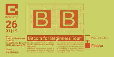 Bitcoin for Beginners Padova
