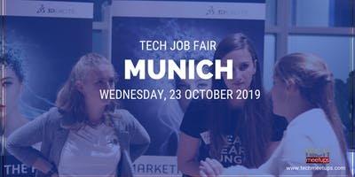 MUNICH TECH JOB FAIR AUTUMN 2019