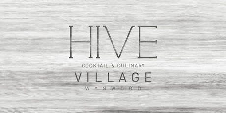 HIVE Basel 2019 Cocktail and Culinary Village tickets
