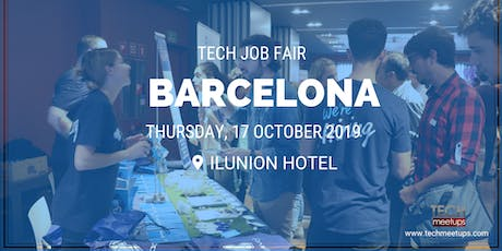 BARCELONA TECH JOB FAIR AUTUMN 2019 entradas