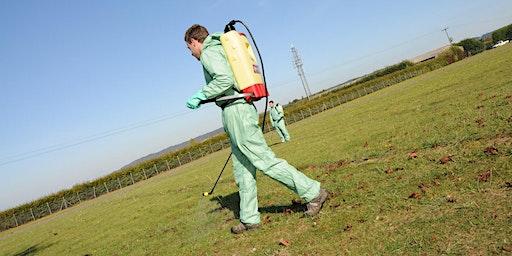 Pesticides Application, Hand Held or Knapsack Sprayers (PA6a)