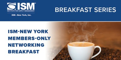 ISM-New York Members-Only September Networking Breakfast