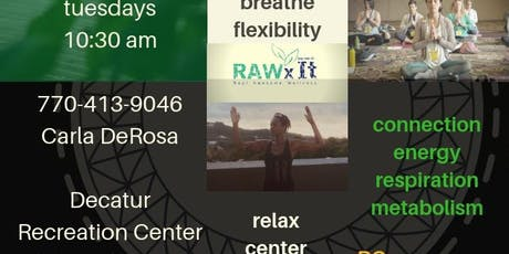 Gentle Yoga - Decatur Recreation Center tickets