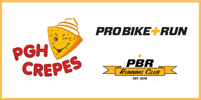 Pro Bike + Run Saturday Group Run with PGH Crepes Truck