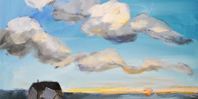Paint Clouds Step-by-Step with Art Night Out