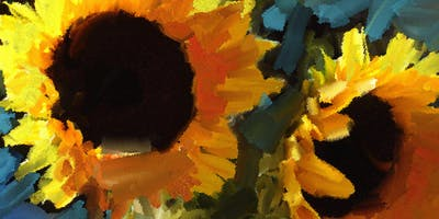 Paint Sunflowers Step-by-Step with Art Night Out