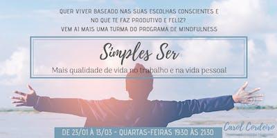 Simples Ser - Um programa de Mindfulness baseado na Neurociência