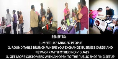 The Power of Networking Brunch and Shopping