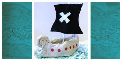 Spirit Night for India Hook Elementary School - Clay Pirate Ship Workshop (5-12y)