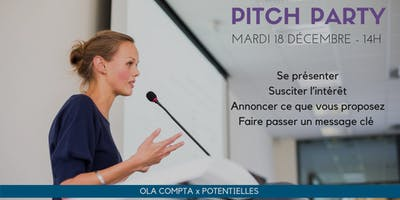 Entreprendre au Féminin - Pitch party !
