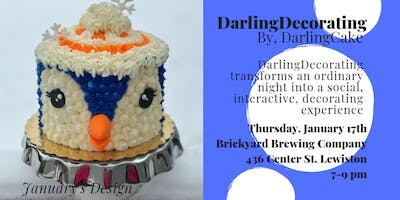 DarlingDecorating: A Social Cake Decorating Event