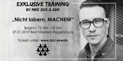 EXKLUSIVE TRAINING BY MIKE ZICK