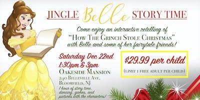 Jingle BELLE Story Time @1:30pm
