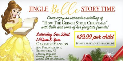 Jingle BELLE Story Time @3pm