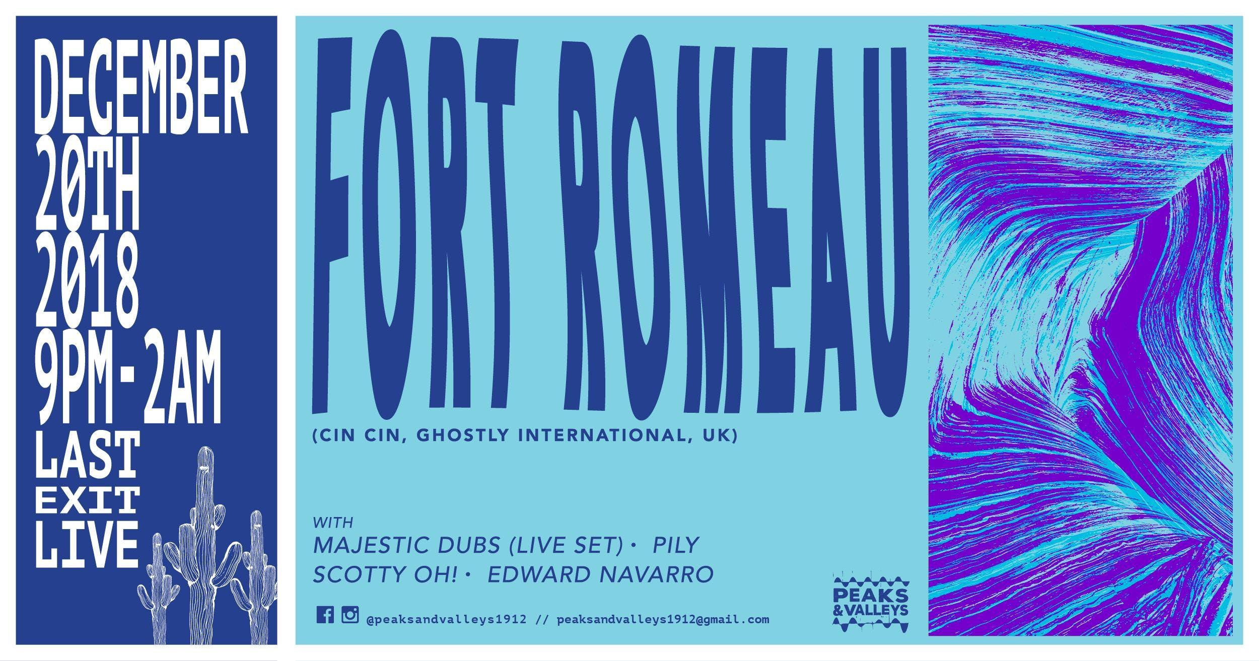 Fort Romeau at Peaks & Valleys