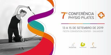 7ª Conferência Physio Pilates ingressos