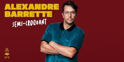 Alexandre Barrette, Semi-croquant: MaBrasserie