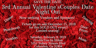 3rd Annual Valentine's Couple's Date Night Out