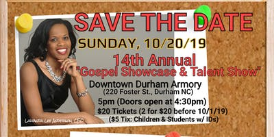 """Words of Essence's 14th Annual """"Gospel Showcase & Talent Show 2019"""""""
