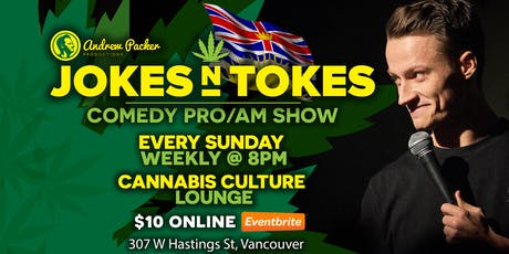 Jokes N Tokes Comedy - Vancouver tickets