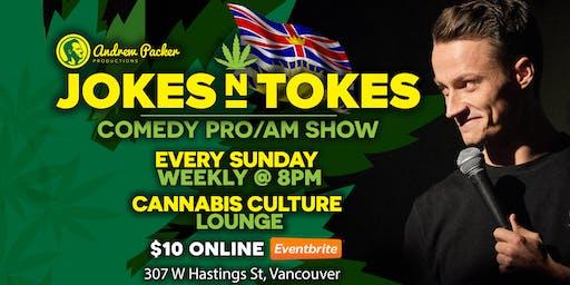 Jokes N Tokes Comedy - Vancouver
