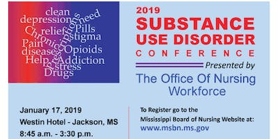 2019 Substance Use Disorder Conference